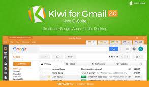raccourci bureau gmail kiwi pour gmail win mac les outils directement