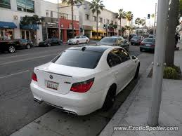 bmw beverly bmw m5 spotted in beverly california on 01 20 2012