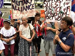 Comfort Women In Philippines Philippines Manila Comfort Women Protest