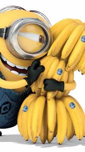 happy iphone backgrounds 2014 happy despicable me minion with lots of bananas iphone 6