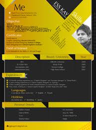 Modern Resume Templates Free Modern Free Resume Template Design For Graphic Designers