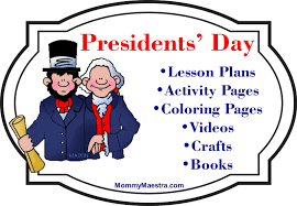 mommy maestra presidents u0027 day activities coloring pages books
