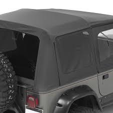 jeep soft top white bestop jeep wrangler 1988 1995 supertop nx complete