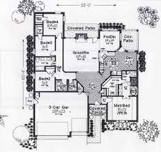 colonial style floor plans colonial style house plan 4 beds 2 50 baths 2100 sq ft plan 310 801