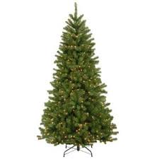 noble fir christmas tree home accents 7 ft noble fir set artificial