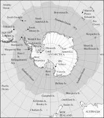 Map Of Antarctica Evolution And Biodiversity Of Antarctic Organisms A Molecular