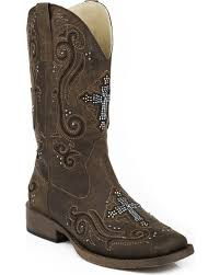ladies short biker boots roper boots country outfitter