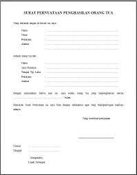 contoh surat pernyataan untuk melamar kerja surat keterangan penghasilan orang tua dari kelurahan