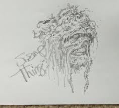 swamp thing greg capullo sketches pinterest swamp thing