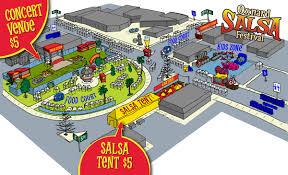 Festival Map New Salsa Festival Map Oxnard Salsa Festival