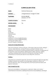 Sample Resume For Lawyers by Jans Catherine Resume October 2015