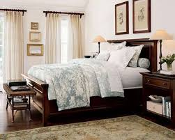 vintage rustic bedroom ideas cheap white bedding with simple