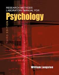 research methods laboratory manual for psychology 3rd edition