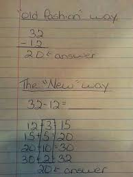 the common core is today u0027s new math u2013 which is actually a good thing