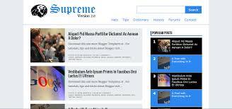supreme v2 responsive blogger template free download