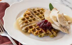 italian thanksgiving thanksgiving leftovers stuffing waffles with turkey u0026 gravy