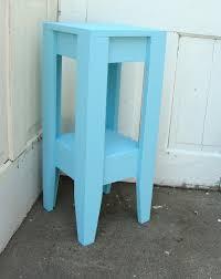 furniture interesting nautical light blue narrow night stand