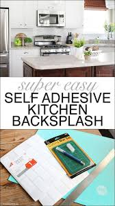 self adhesive kitchen backsplash tiles best 25 self adhesive backsplash ideas on easy