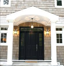Front Door Side Curtains by Door With Sidelights Colonial Front Doors Sidelights Door Privacy