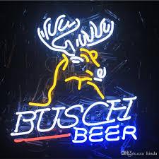 busch light neon sign 2018 glass led diy neon sign flex light indoor outdoor