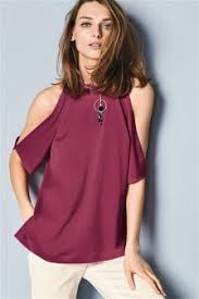 cold shoulder tops women s tops t shirts cold shoulder coldshoulder tshirts next usa
