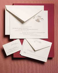 Standard Invitation Card Sizes Anatomy Of An Invitation For Every Style Of Event Martha Stewart