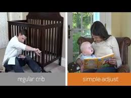summer infant landon simple adjustable 4 in 1 crib youtube
