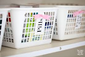 Bathroom Organizers Ideas Colors How To Organize In Style Using Dollar Store Baskets In My Own Style