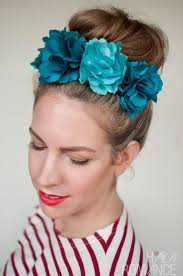 flower hair ways to wear flowers in your hair hair