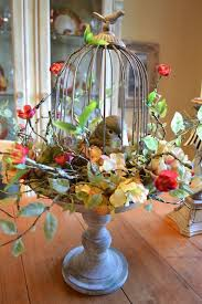Decorative Bird Cages For Centerpieces by 63 Best Birdcages Images On Pinterest Birdcage Decor Flower
