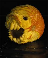 Pumpkin Carving by This Guy Makes The Scariest Pumpkin Carvings Ever