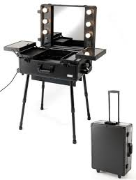 portable hair and makeup stations portable makeup table with lights makeup vidalondon