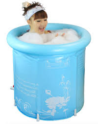 inflatable bathtub for shower tubethevote 65cm thickening folding bath tub inflatable for lt