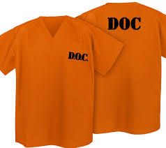 inmate halloween costume prisoner costume shirt orange convict doc shirts halloween
