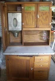 sellers hoosier cabinet for sale sellers oak hoosier type kitchen cabinet w slag glass doors