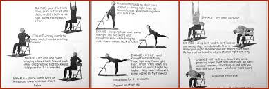 Chair Exercises For Seniors Used Chair Yoga Routines Chair Yoga Routines U2013 Chair Design And