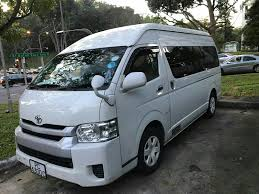 toyota hiace 2015 buy used toyota hiace commuter gl car in singapore 93 000
