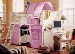Lea Girls White Bedroom Furniture Lea Furniture Spring Garden Low Loft Bed