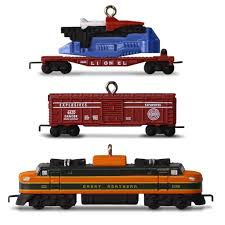 hallmark 2016 ornament lionel 2533w great