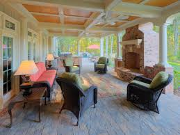 patio small enclosed patio decorating ideas with fireplace in the