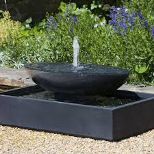 landscape wall mounted outdoor fountains with brown color