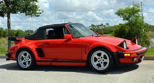 1987 porsche 911 slant nose slantnose 1988 porsche 911 turbo cabriolet with 14k