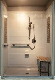 custom walk in showers available at custom bath solutions are low