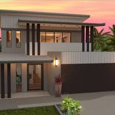 Home Design Double Story House Plans Queensland Home Designs Sketched Drafting