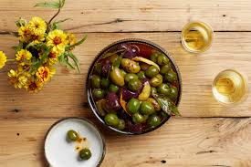 warmed spiced olives recipe epicurious