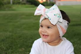 baby headwraps baby girl feathers wrap made by jeniffer mifille