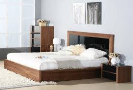 bedroom by beverly hills furniture in walnut u0026 black