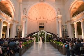 Wedding Altar Backdrop An Event Planner U0026 39 S Wedding At A Museum By Sue The