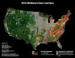 University Of Wisconsin Map by Wildland Urban Interface Ecowest