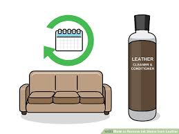 ink off leather couch 3 ways to remove ink stains from leather wikihow